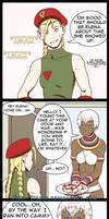 Street Fighter Girl Talk 007 by fire-tisane
