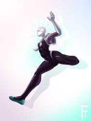 Spider-Gwen by fire-tisane