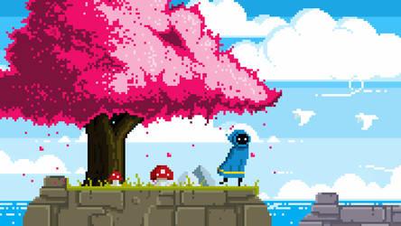 Game Concept 2 pixel art by PXLFLX