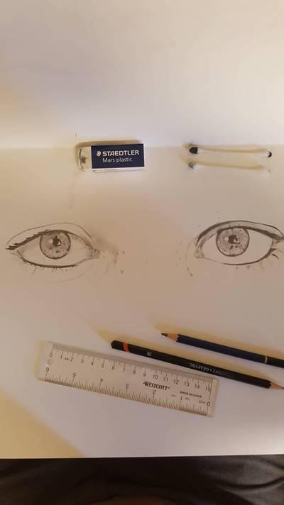 Beautiful eyes by NilocG