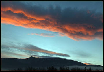 Red skies - 10 novembre 2018 by Arnolf