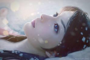 Snow Girl by Akatukiart