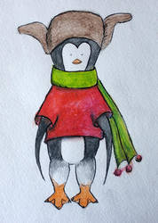 Penguin Ivan by cahelud