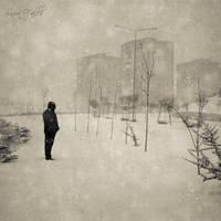 Snow Falls by DilekGenc