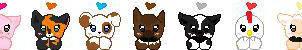 FREE Avatars Barnyard Edition by Lil-Hamimo