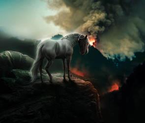 THE LAST FIRE by Rhiaan