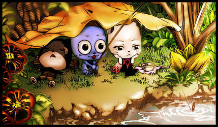 Fairy Tail - Lazy Afternoon. by BakaXero