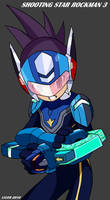 Shooting Star Rockman 3 by LVUER