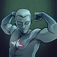 Beefcake Series- Captain Atom by ehenders