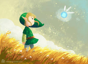 Link and Navi by MTerrenal