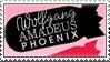 Phoenix Stamp by psyco-dragon