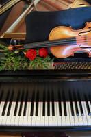Piano and violin by nateeboy68