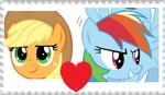 AppleDash stamp by Sonicsallywolfsdog