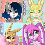 Pixel avatars commissions 2 by 1ndigoCat