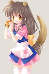 Fuko + hamburger by airmi