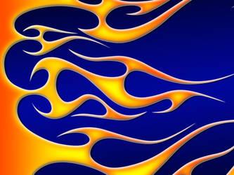 Flames - hot wheels tribal by jbensch