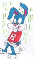 Buster Bunny-Card art by spongefox