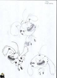 Marsupilami emotions by spongefox