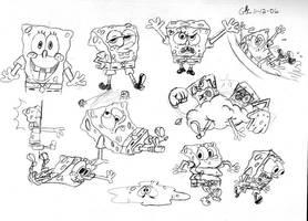 Spongebob pulls a Bubsy by spongefox