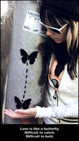 Love is like a butterfly. by Bunnis