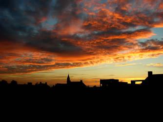 Sunset by StingingPistol