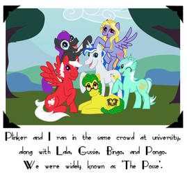 The Posse by LadyM