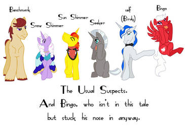 The Usual Suspects by LadyM