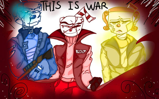 This Is War by cloudywaterfall