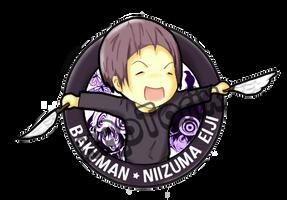 Bakuman - Niizuma Eiji chibi by xAoTorix