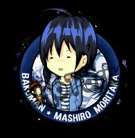 Bakuman - Mashiro Moritaka chibi by xAoTorix