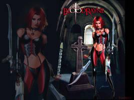 BloodRayne custom Wallpaper by VampiressClaudia
