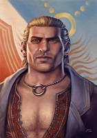 Varric by slugette