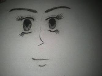 Anime Face by ChristineK6277