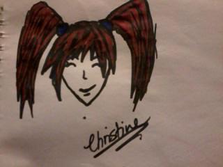 Anime Girl by ChristineK6277