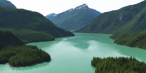 Green Lake by Gannaingh32