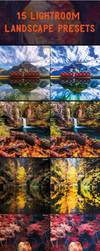 BEST 15 AR Landscape Lightroom Presets by PSD-stocks999
