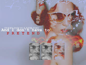 Red Hair Layout by dirtyheaven