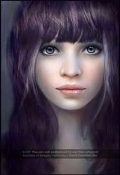 Portrait Art + PAINTING VIDEOS by ZombieSandwich