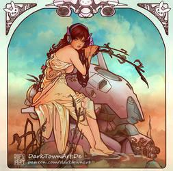 Art Nouveau DVA by ZombieSandwich
