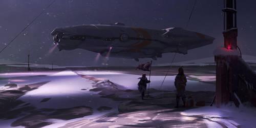 Starship Oil Check by JoshEiten
