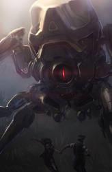 Killer Robot by JoshEiten