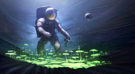 Astronaut Biologist by JoshEiten
