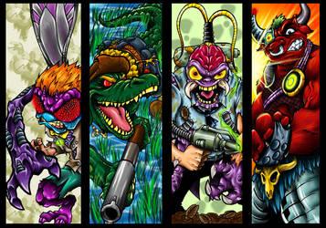 TMNT Villians 2 by Dreekzilla
