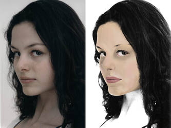 Referenced face study- WIP by Selene-Blackthorn
