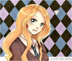 HP: Luna Lovegood by meru90