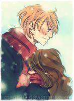 HP:Weasley Blush by meru90