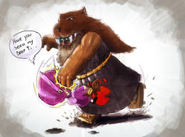 Udyr vs Annie by Haxe