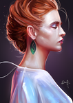 Stylized Portrait #14 by Nixri