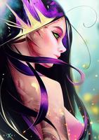 Portrait #21 - Fairy by Nixri