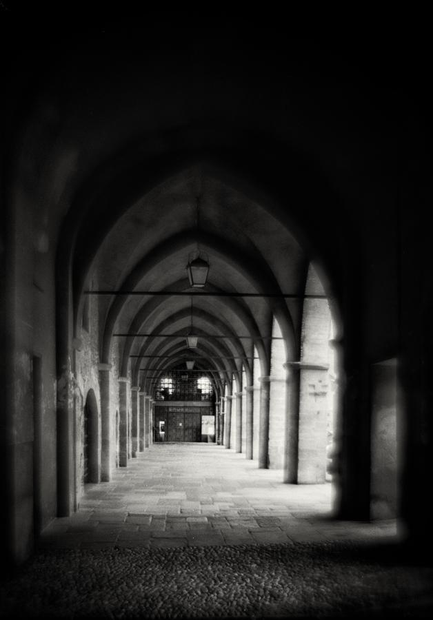 Piazza della Cittadella, Bergamo, Italy by HorstSchmier